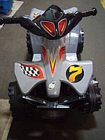 Детский электро квадроцикл Орион 426 серый