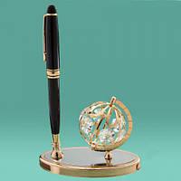 """Письменный набор на стол """"Глобус"""" подарок на день учителя"""