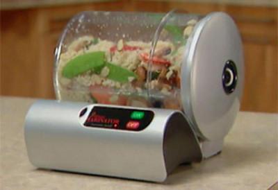 Вакуумный экспресс маринатор бытовой 9 MINUTE для мариновки продуктов