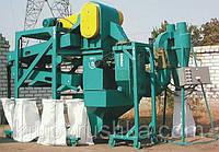 Крупорушка для переработки риса. Оборудование крупяное
