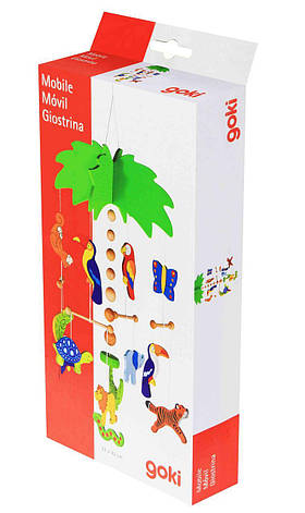 Goki Мобайл деревянный Пальма 52917, фото 2