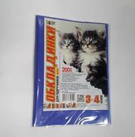 """№700 Обложка для учебников (200 мкм) 3-4 класс """"Люкс колор"""" 20-34"""