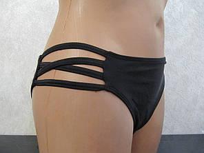 Купальник бикини черный, фото 2