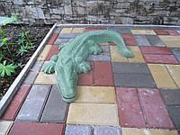 """Садовая скульптура, декор для сада """"Крокодил"""" от производителя. Товары для детей Днепропетровск."""