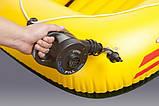 Насос электрический аккумуляторный Intex 66622 (220В Вольт + 12 Вольт + АКБ), фото 4