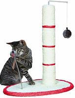 4306 Trixie Когтеточка на подставке с игрушкой, 50 см