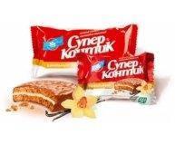 Печенье Супер-Контик с ванилью в шок-мол 50г