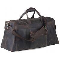 Дорожная Сумка для мужчин из натуральной винтажной кожи TIDING BAG (T1098)