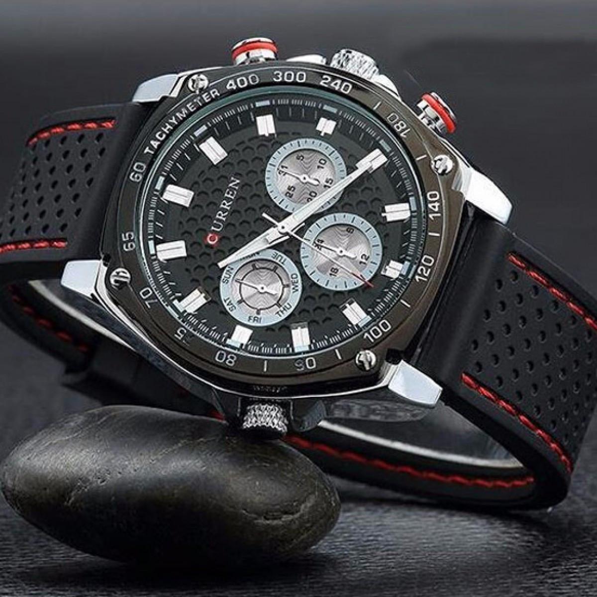 Часы наручные curren купить в ремешки для наручных часов хублот