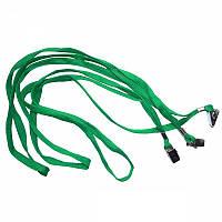 Шнурок для беджей Agent D002 зелёный (3420378)