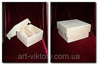 Короб с крышкой под чайные пакетики (19 х 19 х 10,5 см)