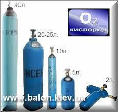 Кислородные баллоны (О2)
