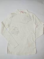 Нарядный гольф блузка для девочек BERMINI от 140 до 158 см рост.