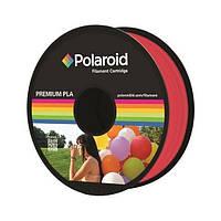 Катушка с нитью Polaroid 1.75мм/1кг PLA для 3D принтера Прозрачный Красный