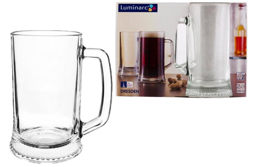 Набор кружек для пива 330 мл. Luminarc Dresden 2 шт.