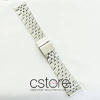 Для часов браслет Breitling серебро 24х20мм (07152)