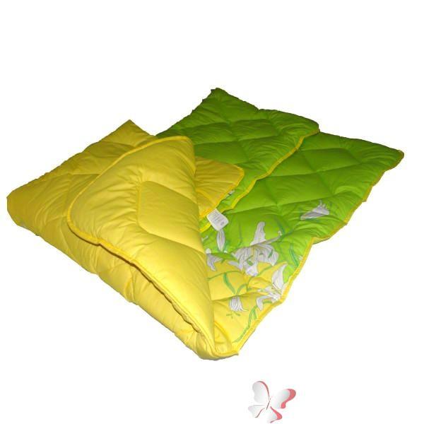 """Одеяло шерстяное ТЕП 150*210 """"Лилия зеленая"""""""
