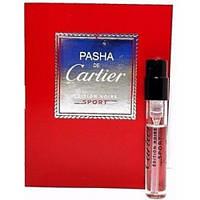 Cartier Pasha Noire Sport EDT 1.5ml VIAL (ORIGINAL)