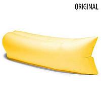 Ламзак, надувной матрас LAMZAK. Желтый