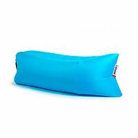 Ламзак, надувной матрас LAMZAK. Голубой