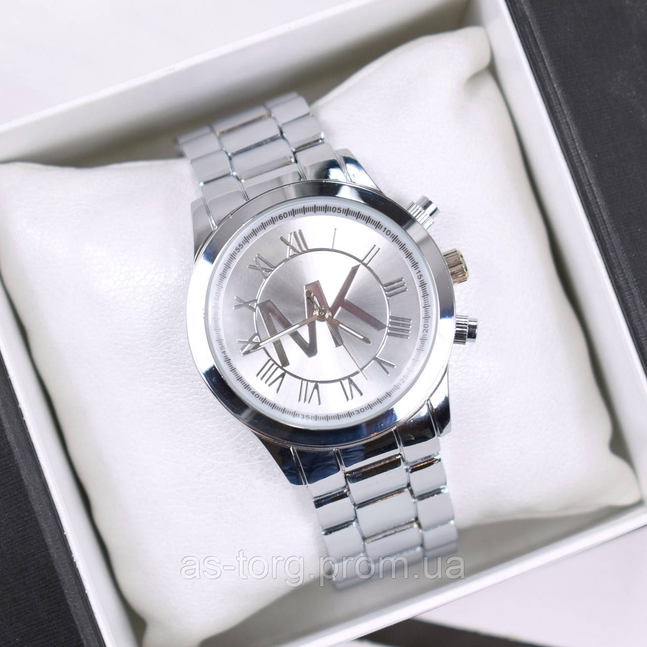 13430a347a96 Часы женские наручные MK Oslo серебро, часы дропшиппинг  продажа ...