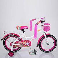 """Велосипед детский """"INFANTA-16""""  White."""