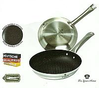 Сковорода Blaumann BL-3189 металлическая с мраморным покрытием