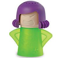 Паровой очиститель микроволновки Энгри Мама Microwave Cleaner Angry Mama (зелёный))