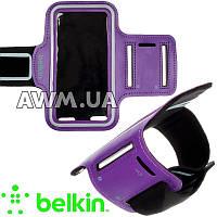 """Спортивный чехол на руку Belkin 4"""" фиолетовый"""