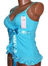 Маечка женская бантик (LV62333) | 10 шт., фото 2