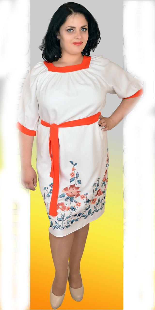 015f19a1848 Льняное платье большого размера - оптово - розничный интернет - магазин