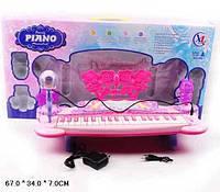 Синтезатор с микрофоном 6619