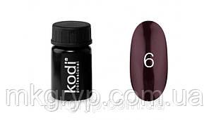 Гель краска № 6 цвет фиолетовый самый темный