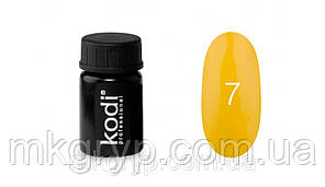 Гель краска № 7 цвет желтый