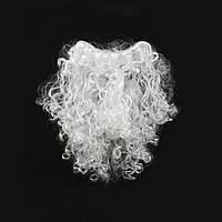 Борода Деда Мороза 30см средняя