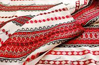 Ткань с украинской вышивкой Ренесанс ТДК-31 2/1
