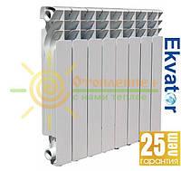 Биметаллический радиатор Ekvator  500х80