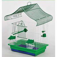 Клетка мини-1 оцинкованная для попугаев 22*33*45 Лори