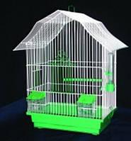 Клетка мини-2 оцинкованная для попугаев 22*33*47 Лори