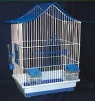 Клетка Мини-3 оцинкованная для папуг  22*33*47 Лори