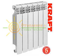 Биметаллический радиатор Kraft  500х80