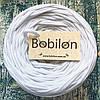 Пряжа для ковров Бобилон 5-7 мм, цвет белый