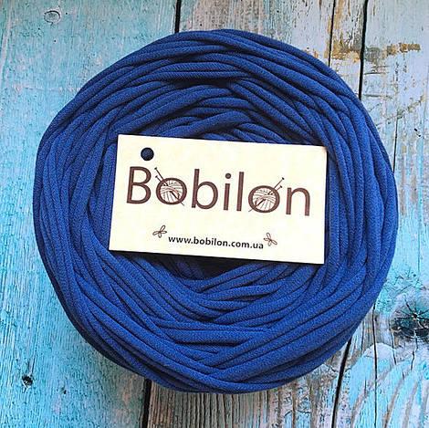 Пряжа для ковров Бобилон 5-7 мм, цвет индиго