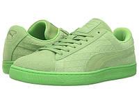 Мужские кроссовки PUMA Suede On Suede Green Flash