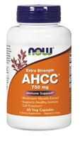 Соединение активной полуцеллюлозы, AHCC, Now Foods, AHCC, 750 mg, 60  Caps