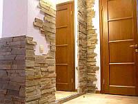 """Облицовка стен декоративной плиткой под """"кирпич"""" или """"камень"""""""