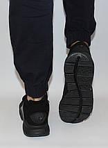 Кроссовки мужские черные Nike sock dart сетка реплика, фото 3