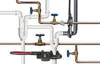 Cпуск воды из стояков системы водоснабжения и отопления