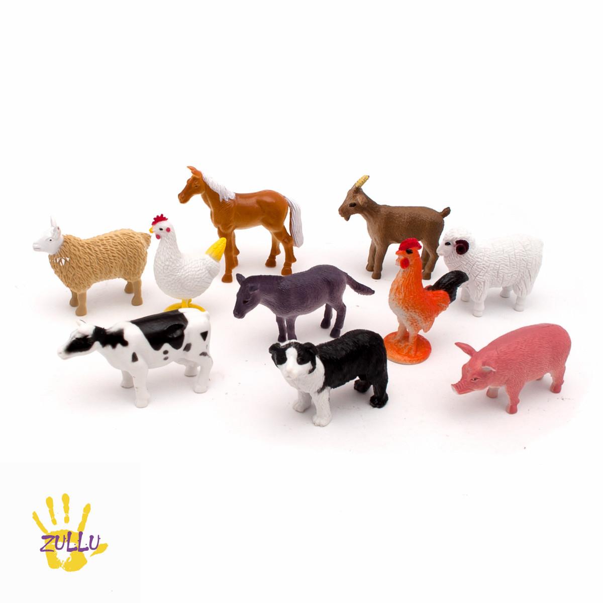 """Набор реалистичных фигурок """"Ферма"""" от Learning Resources (10 шт)"""