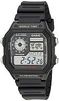 Мужские часы Casio AE-1200WH-1AVEF Касио водонепроницаемые японские кварцевые